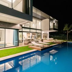 """Mas Property Marbella on Instagram: """"Brand New Villa with Sea and Golf views in La Alqueria. The property impresses with its highest quality, cutting-edge technology and…"""" House Goals, Villa, Golf, Technology, Sea, Mansions, Architecture, House Styles, Outdoor Decor"""