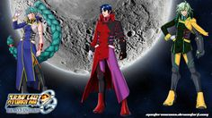 SRW OGMD wallpaper of the Fury Knights from SRW J  - Fu-Lu Mu-Lu - Al-Van Lunks - Jua-Mu Dalby  Visit my deviantart page for more SRW OG: The Moon Dwellers wallpapers.