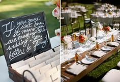 Personalized Signs | Ang Weddings and Events