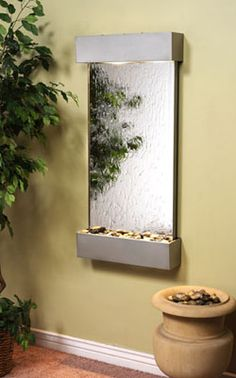 indoor wall water fountains