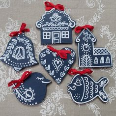 Our own original handmade wooden decorations. Handcrafted in the Czech Republic… Christmas Trends, Christmas Love, Scandinavian Christmas, Christmas Wrapping, Christmas Baking, Diy And Crafts, Christmas Crafts, Arts And Crafts, Christmas Decorations