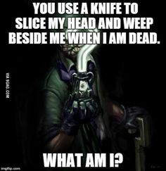 Riddle riddle riddle