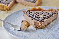 No bake Chocolate Mousse Tart recipe that is easy to make with only 8…