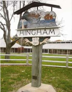 Hingham England. Some of my ancestors immigrated from Hingham in England to Hingham in Massachusetts.
