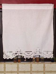 M s de 1000 ideas sobre visillos en pinterest cortinas for Visillos confeccionados