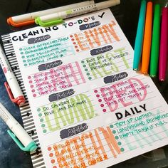 17 Bullet Journal cleaning pages and layouts to help you win spring cleaning and beyond Bullet Journal cleaning pages and layouts to help you win spring cleaning and beyond -Best spring cleaning hacks for