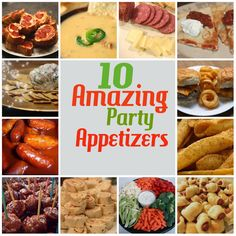 10 Amazing Party Appetizers by Crafty Allie :: Project Inspire{d} Feature at AnExtraordinaryDay.net - Last Minute Super Bowl Party Ideas
