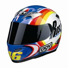 helmets of moto gp | Sepang Winter Test 2004 | ROSSI HELMETS