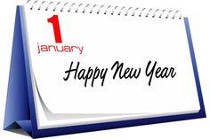 happy new year clip art for 2015 | January Desk Calendar Clipart