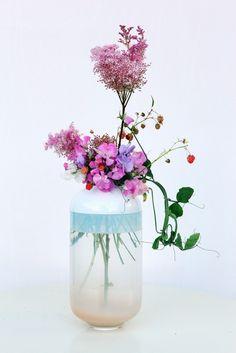 Dechem váza z jedné Křehký