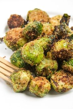 """Quoted, """"these are the best Brussels sprouts ever."""" I might need to make these sometime!"""