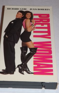 Pretty Woman VHS Tape Movie Richard Gere Julia Roberts Rated R