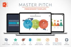 Master Pitch | Powerpoint Template by Zacomic Studios on Creative Market
