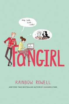 Fangirl by Rainbow Rowell, I loved this book. The story shows a college freshman's adjustment to life away from home.  Plus, it's an adorable love story.  Cath's twin sister has decided that they shouldn't room together so Cath is on her own.  With the help of her roommate she makes it through her first year and learns a lot.  Enjoy the read. Drezny