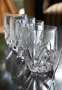Marquis by Waterford Brookside DOF Glass, Set of 4 - Special!