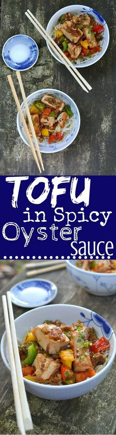 Scrumptious Marinated and pan-fried Tofu served in a Sriracha-spiked Oyster sauce. Comes together in 30 minutes flat for a fabulous Week-night Dinner!