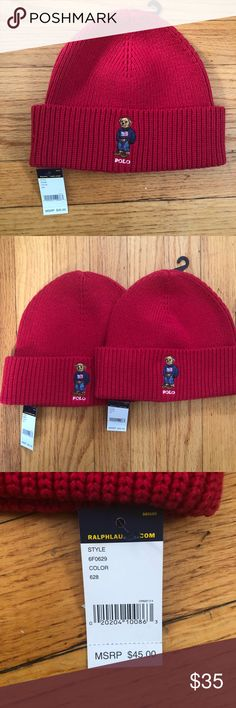 Shop Men s Polo by Ralph Lauren Red Black size OS Hats at a discounted  price at Poshmark. 15a00f7c45bc