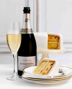 Excellent pairing of Laurent-Perrier champagne