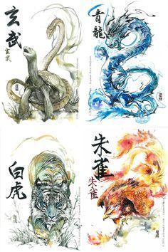 Image of Four Symbol