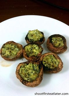 Cohen Lifestyle - Ricotta Pesto style Baby Bella Mushrooms