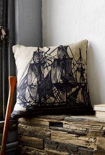Anthropologie Nautical Pillow