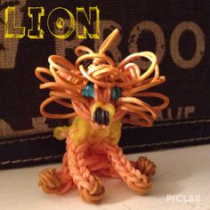 Aww I love this Rainbow Loom Lion Originally  created by Anne Marie Grieco 1 month ago