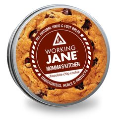 Working Jane Momma's Kitchen - All natural hand & foot balm. Animals For Kids, Chocolate Chip Cookies, The Balm, Moisturizer, Kitchen, Skin Care, Natural, Products, Moisturiser