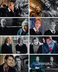 #harry potter x #fred & george weasley