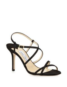 Jimmy Choo High Heel Elaine Strappy Sandals shimmer high heels