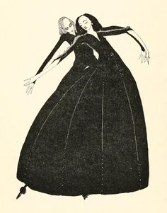 The Fairy Tales of Perrault, 1922, with pictures by Ireland's Harry Clarke (1889–1931).