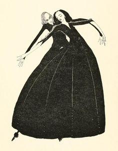 Harry Clarke illustration