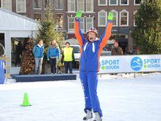 Goudse IJsbaan KPN Junior Schaatsclub met Annamarie Thomas - Ice Rink Gouda