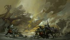 ArtStation - Guild Wars 2 , Ruan Jia
