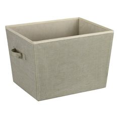 Household Essentials Medium Tapered Storage Bin with Handles, Recycled Cotton Blend Material, Celery Green Household Essentials http://www.amazon.com/dp/B004Z913YY/ref=cm_sw_r_pi_dp_AJeRub04D2Y4J