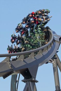 Raptor, the fastest and most frightening ride in Gardaland, the famous amusement park located near Peschiera del Garda, Italy. #BnBGenius #lifeisajourney