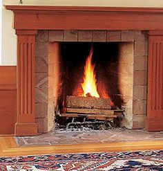 Rumford fireplace - the best