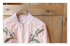 this #bomberjacket though @oliveclothing  #pastel #pink #floral #embroidery #jacket #oliveclothing #blogger #wishlist #cute #beaut #clothing #statement #fashion #fblogger #fashionstatement #ontrend #simple #fashionista #clotheshorse #pearlsandvagabonds