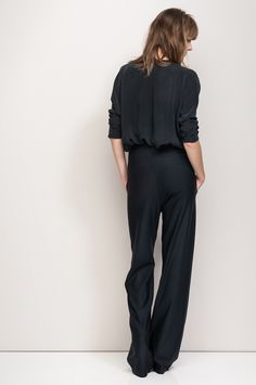 Love the drape of both and check out the detail at the waistband