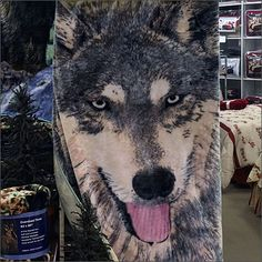 If the merchandise itself is of striking countenance, no shame in using it to promote its own sale. Colorful and asymmetrically hung, with a crown of pillows, visual merchandising has done all it …