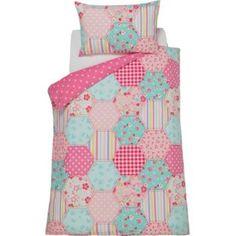 Buy Pretty Patchwork Children's Bedding Set - Single at Argos.co.uk - Your Online Shop for Children's bedding sets.