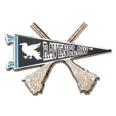 Ravenclaw Quidditch Banner Pin. $8.95 at the Universal Store.
