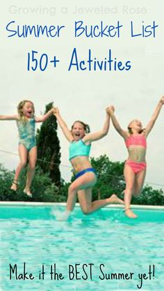 Summer Bucket List of FUN