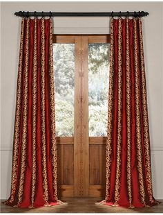 Dahlia Silk Curtain Curtains Drapery Simple Embroidery Embroidered