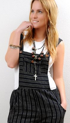 S to XS 80s Vintage Overalls in a Gauze Cotton  sold