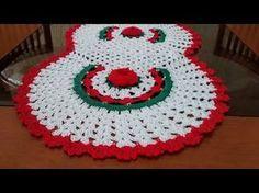 Como executar o trilho de mesa em crochê com 5 rosas parte 1 - YouTube