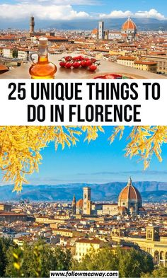time to Travel To Italy To Italy To Italy amalfi coast To Italy budget To Italy cheap To Italy clothes To Italy outfits To Italy packing To Italy places to visit To Italy tips To Italy with kids 25 Unique Things To Do In Florence Italy Travel Tips, Rome Travel, Travel Guide, Places To Travel, Places To Go, Travel Destinations, Visit Florence, Things To Do In Italy, Italy Vacation