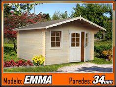 Caseta de madera Emma 1 - 380cmx320cm