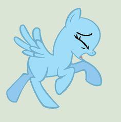 Running Pony Base by alari1234-Bases ...