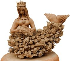 Know 8 beliefs about the tlanchana, the Mexican mermaid. Mermaid Man, Mexican Ceramics, Mermaid Under The Sea, Underwater Creatures, Vintage Mermaid, Mermaids And Mermen, Merfolk, Expo, Mexican Folk Art