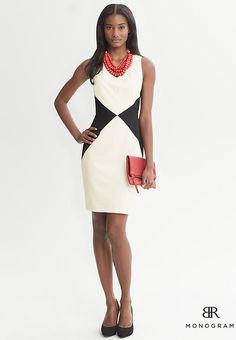Coveted Working Look: Banana Republic Diamond Dress